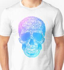 Rainbow Scribble Skull T-Shirt