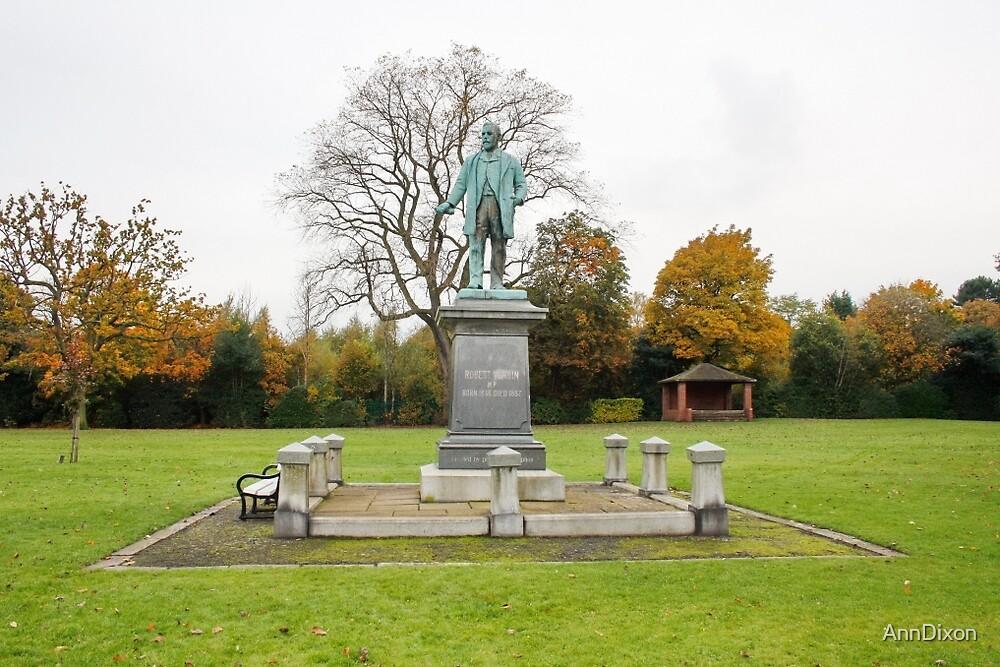Robert Verdin Statue by AnnDixon