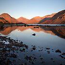 A Wastwater Sundown by SteveMG