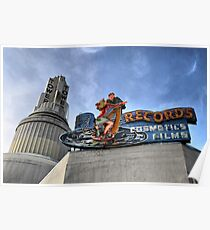 Tower Records Poster