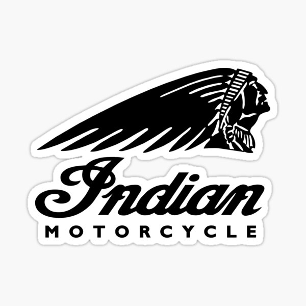 BLACK VICTORY MOTORCYCLES USA DIE CUT DECAL