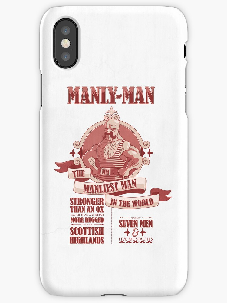 Manly-Man by Damien Mason