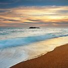 Evening Light at Durdle Door, Dorset by Robin Whalley
