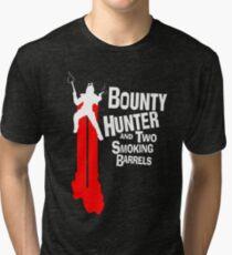 GALACTIC SMOKING BARRELS Tri-blend T-Shirt