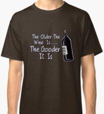 Black Books - Bernard On Wine Classic T-Shirt