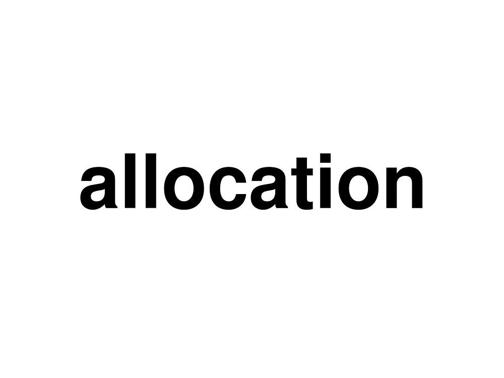 allocation by ninov94