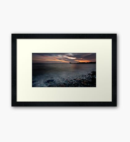 Galway Bay - Salthill Co. Galway Ireland Framed Print