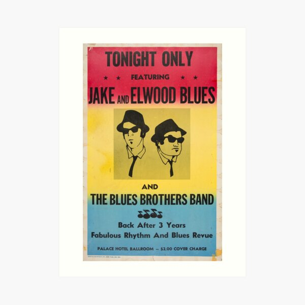 Blues Brothers Wall Art Redbubble