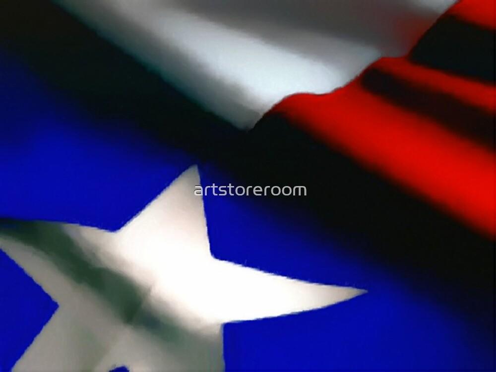 Texas Flag by artstoreroom