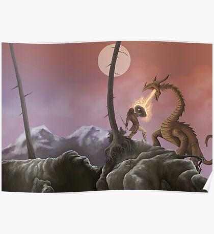 Sigurd and Fafnir Poster