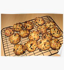 Rock Cakes - Fresh from the Oven Poster