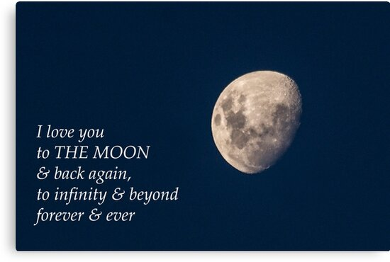 I Love You to the Moon & Back by Elysian Photography ~ Art from the Heart
