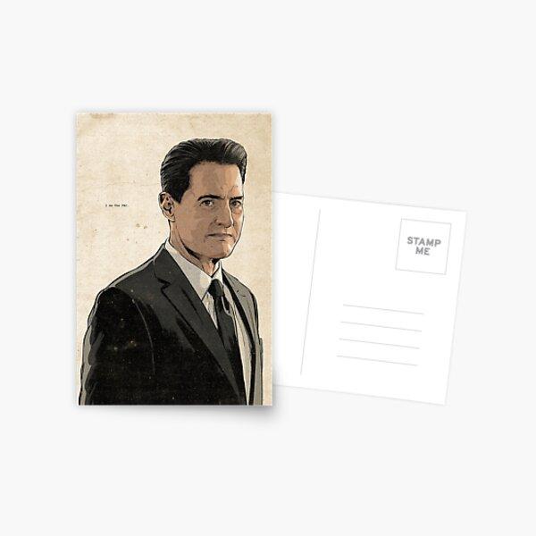 Dale Cooper Postcard