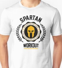 Spartan Workout Motivation Unisex T-Shirt