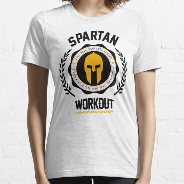 Spartan Workout Motivation Essential T-Shirt