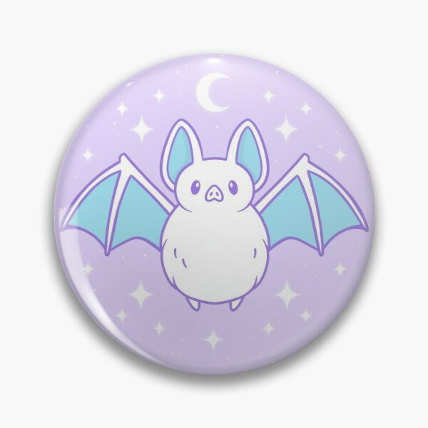 Cute Pastel Bat | Nikury Pin