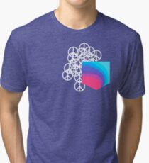 Peace Pocket Tri-blend T-Shirt