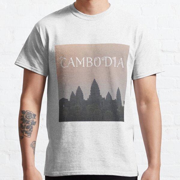 Cambodia - Angkor Wat Sunrise Classic T-Shirt