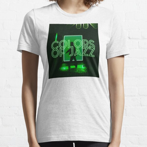Colors of Jazz - Green Essential T-Shirt