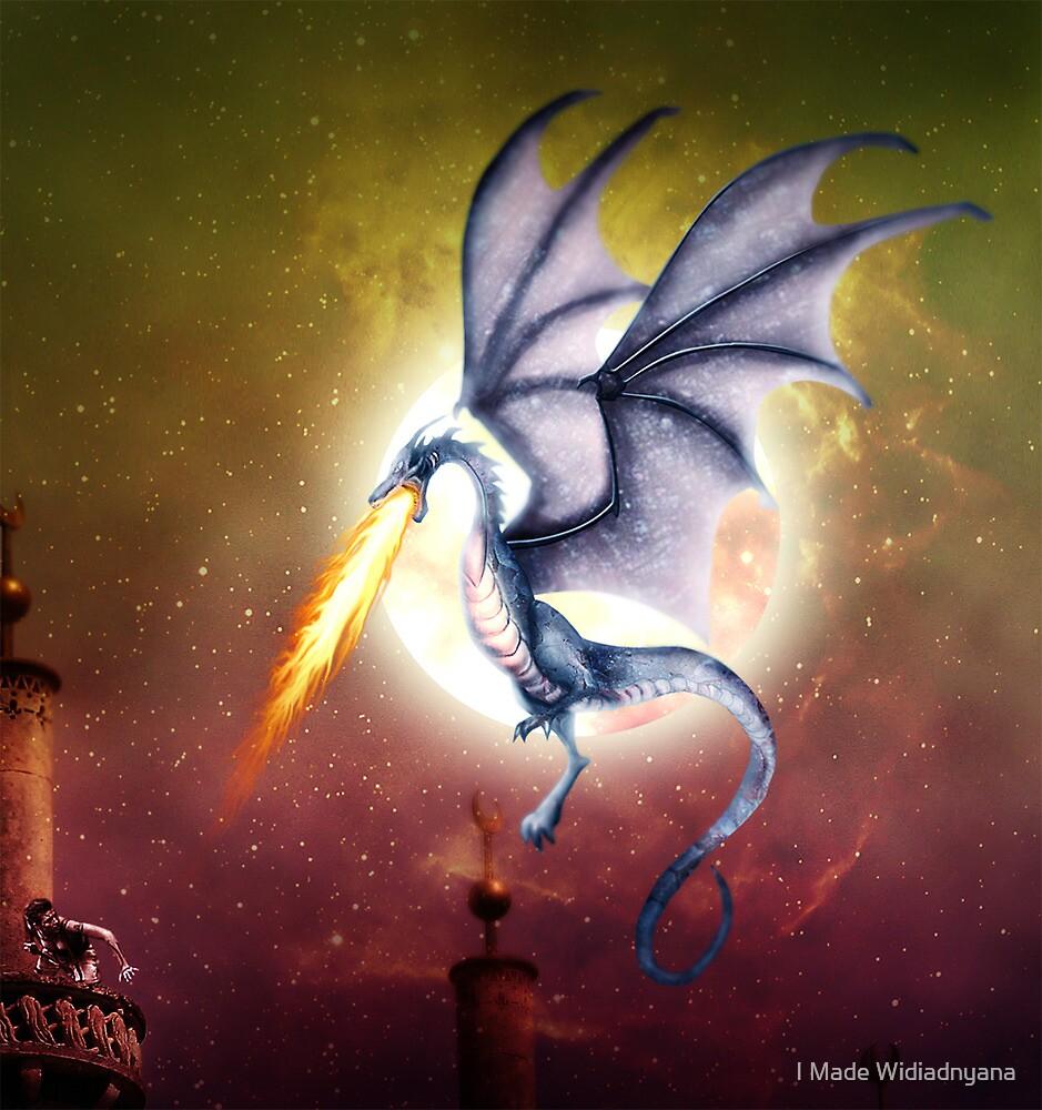 dragon battle by I Made Widiadnyana
