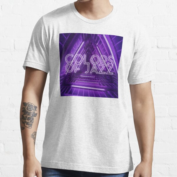 Colors of Jazz - Purple Essential T-Shirt