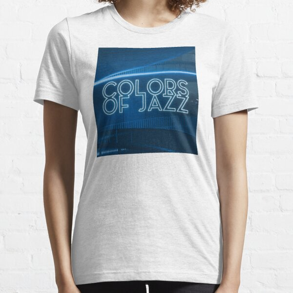 Colors of Jazz - Blue Essential T-Shirt