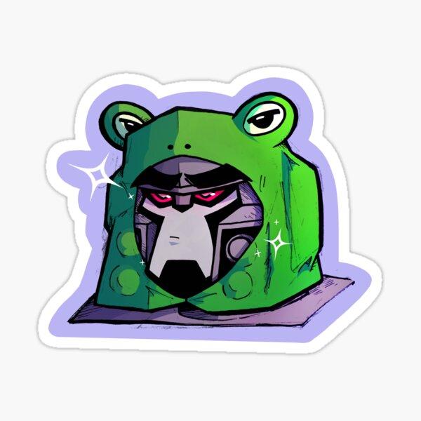 Froggytron Sticker