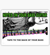 BASS NOTES Sticker