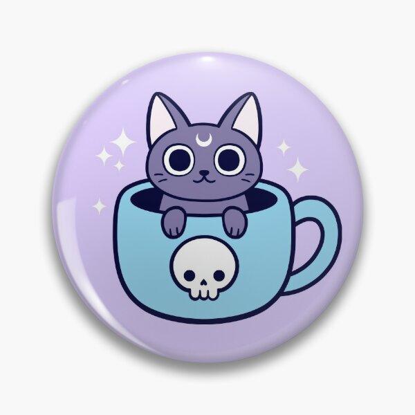 Chat Magique / Thé Black Magic Badge