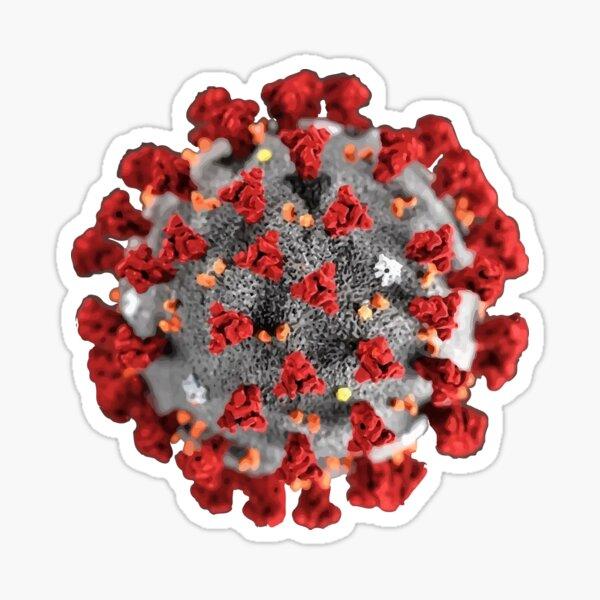 Coronavirus Pegatina