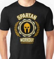 Spartan Workout Slim Fit T-Shirt