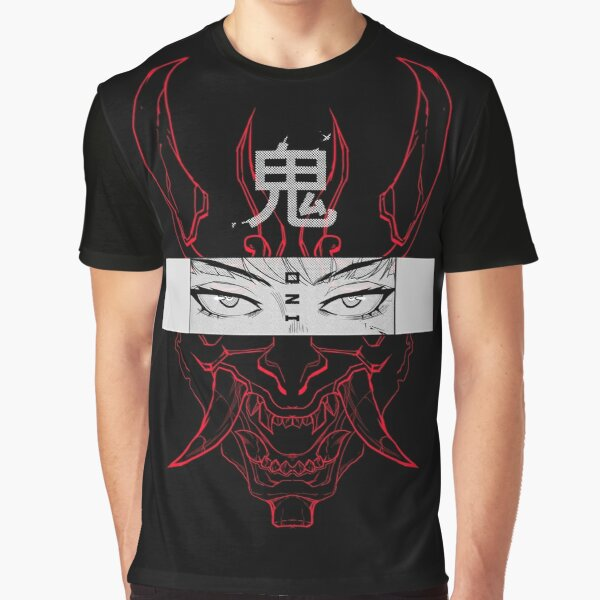 ONI (red) Graphic T-Shirt