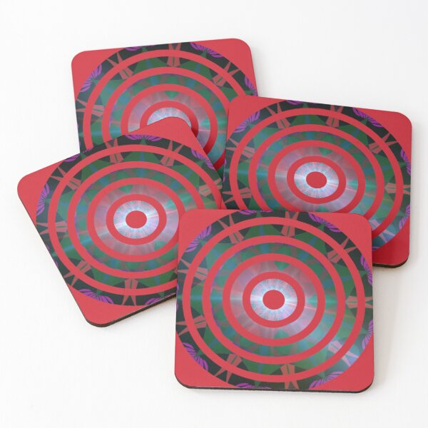 Target Coasters (Set of 4)