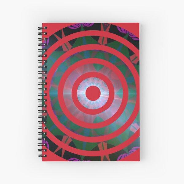 Target Spiral Notebook