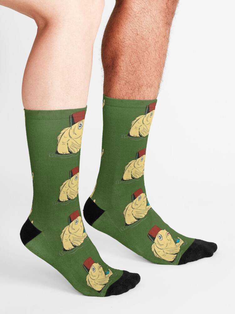 Alternate view of Night of the Cuppa Socks