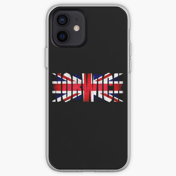 Norwich City FC England Great Britain T-Shirt iPhone Soft Case