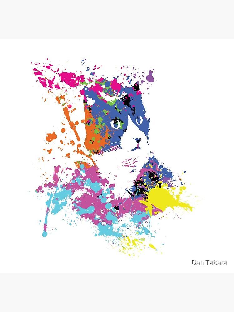 Color Splash Cat by dmtab