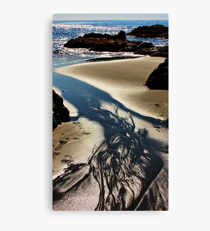 Sand, Sea and Sunlight Canvas Print