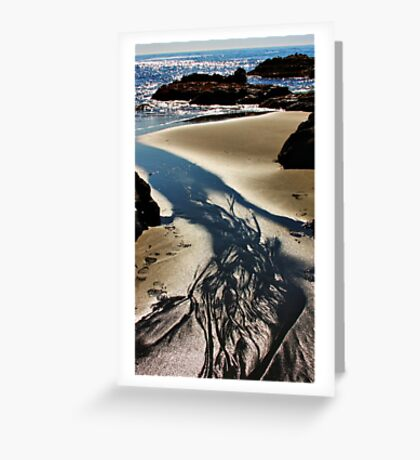 Sand, Sea and Sunlight Greeting Card