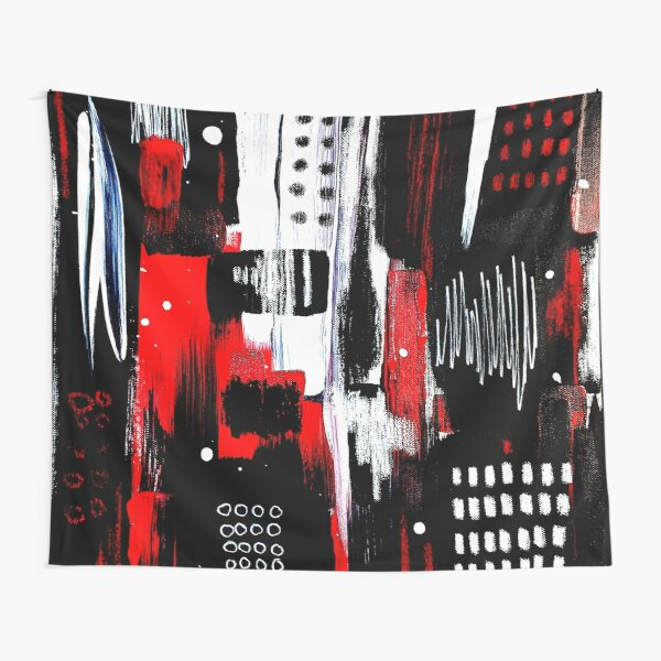 City - Fine Art Painting Tapestry