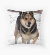 Grandpa's Best Friend Throw Pillow
