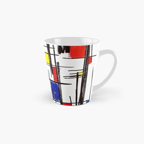 Mondrian Minimalist De Stijl Modern Art © epitomegirl Tall Mug