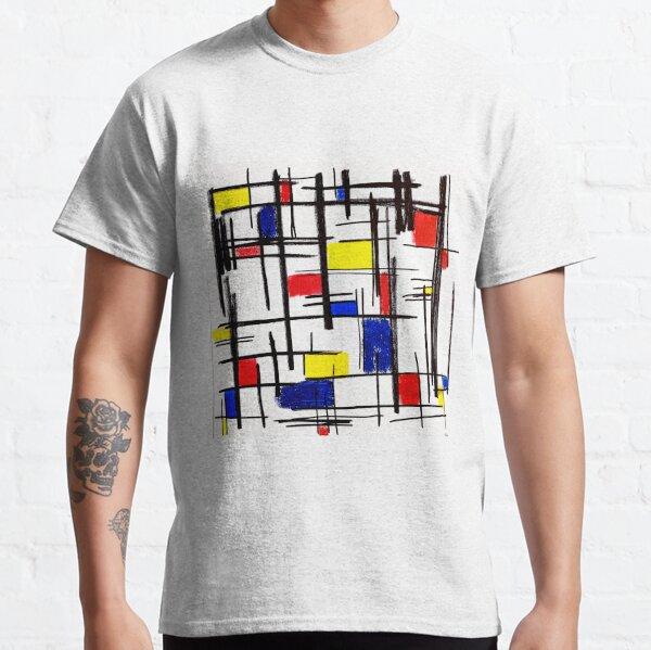 Mondrian Minimalist De Stijl Modern Art © epitomegirl Classic T-Shirt