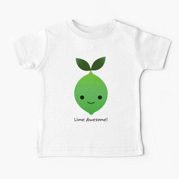 Lime Awesome Kawaii Lime Baby T-Shirt