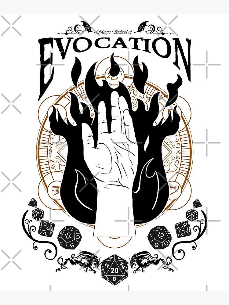 Evocation - RPG Magic School Series : Black by Milmino