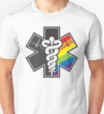 Camiseta unisex Orgullo LGBT - Star of Life