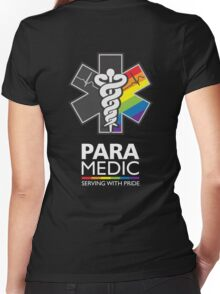 Paramedic Pride Women's Fitted V-Neck T-Shirt