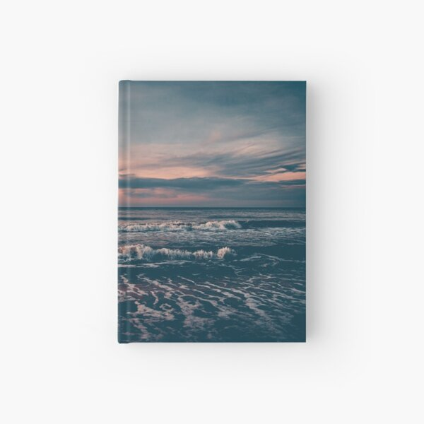 Sunset over the sea #2 Hardcover Journal