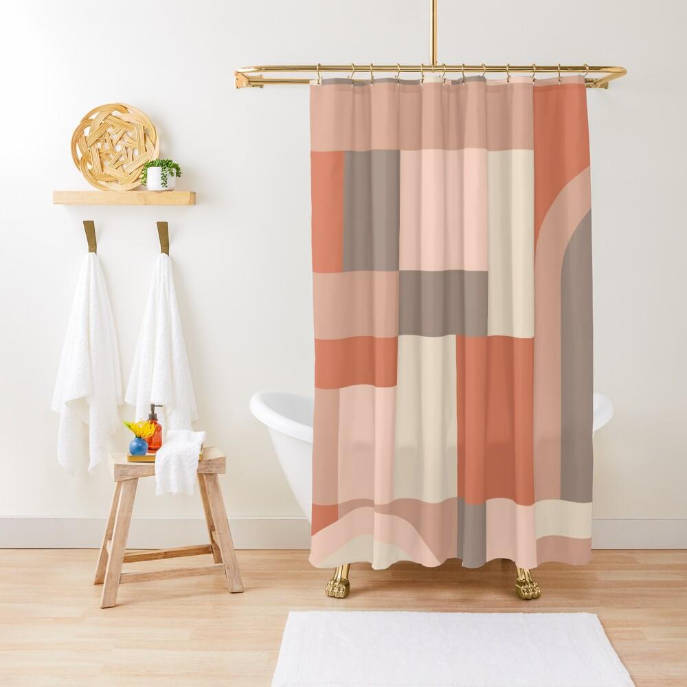 Softy Blocks Shower Curtain