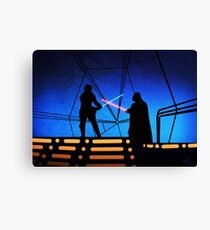 STAR WARS! Luke vs Darth Vader  Canvas Print